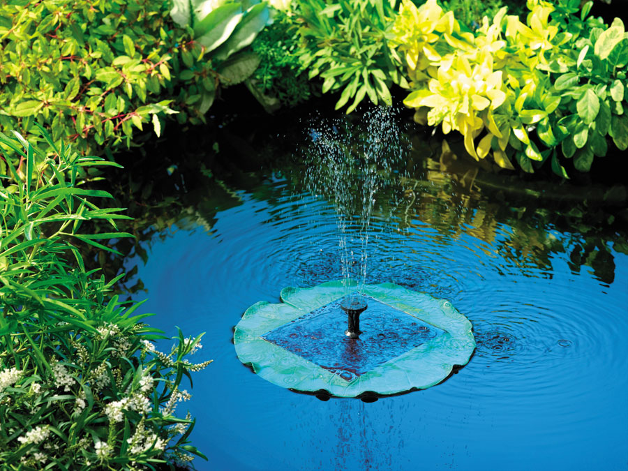 Object moved for Solar water filter for ponds
